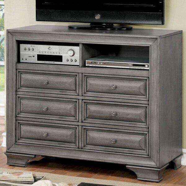 Best Brodnax 6 Drawer Double Dresser