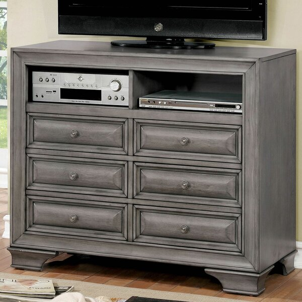 Discount Brodnax 6 Drawer Double Dresser