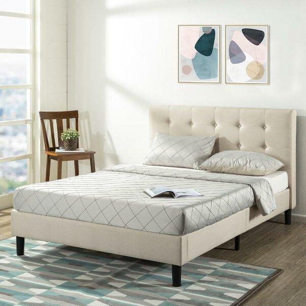 Collins Upholstered Platform Bed by Alwyn Home