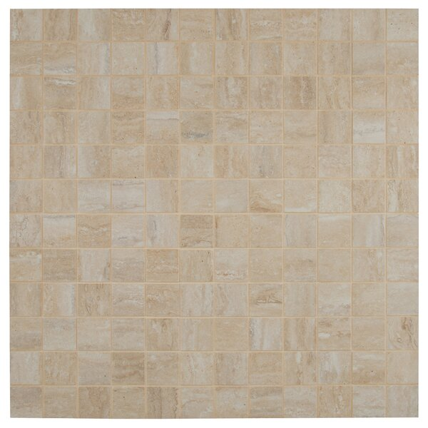 Vezio 2 x 2 Porcelain Mosaic Tile in Beige by MSI
