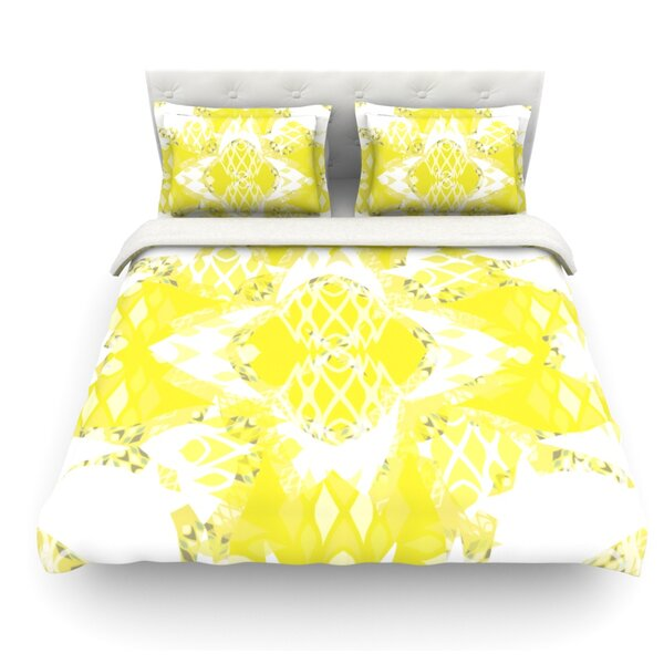 Citrus Spritz by Miranda Mol Featherweight Duvet Cover by East Urban Home