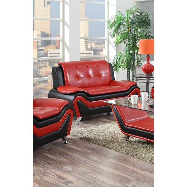 Deasia Standard Loveseat by Orren Ellis