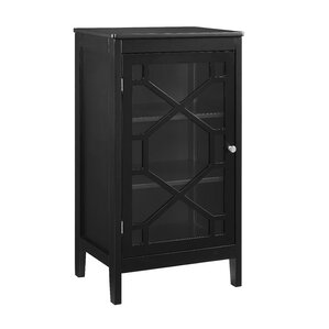 Amazing Zauber Small 1 Door Accent Cabinet