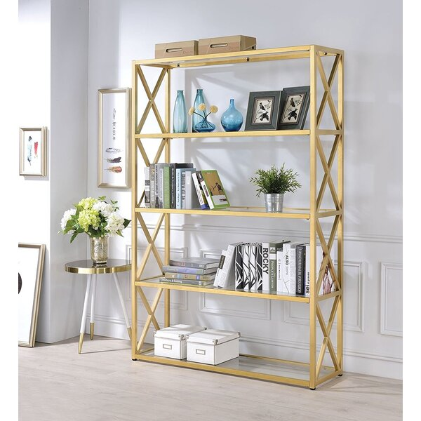 Giuliani Etagere Bookcase by Everly Quinn