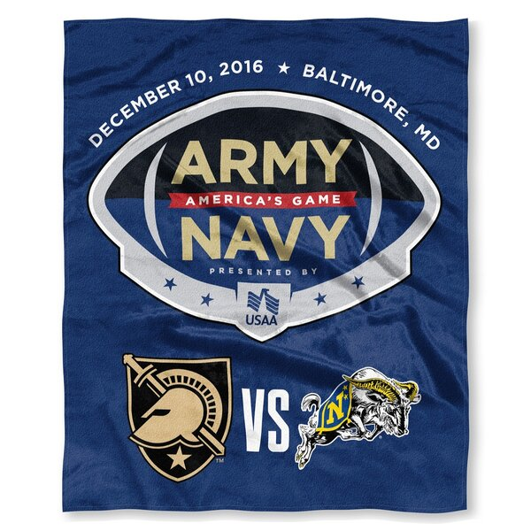 NCAA Army vs Navy 2016 Silk Touch Throw by Northwest Co.