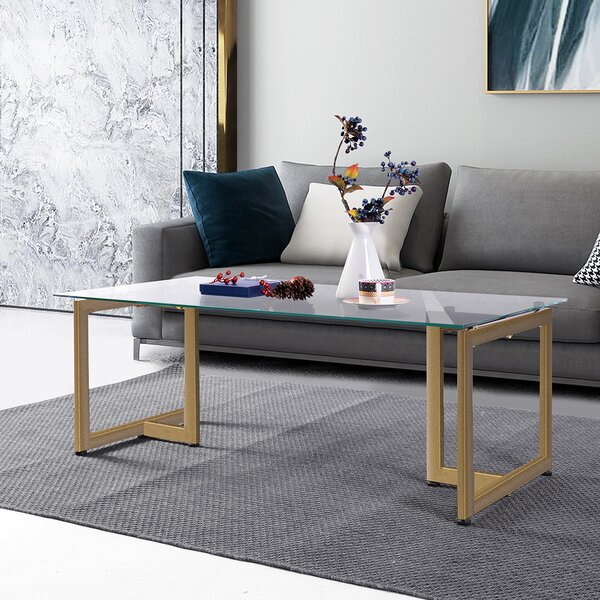 Fortier Coffee Table By Everly Quinn