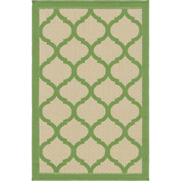 Timmons Trellis Beige Area Rug by Bay Isle Home