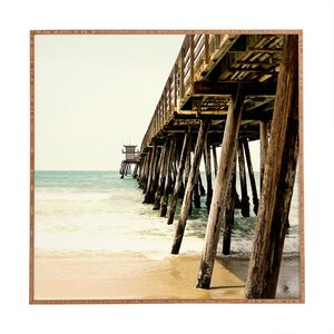 'Down by The Pier' Framed Photographic Print by East Urban Home