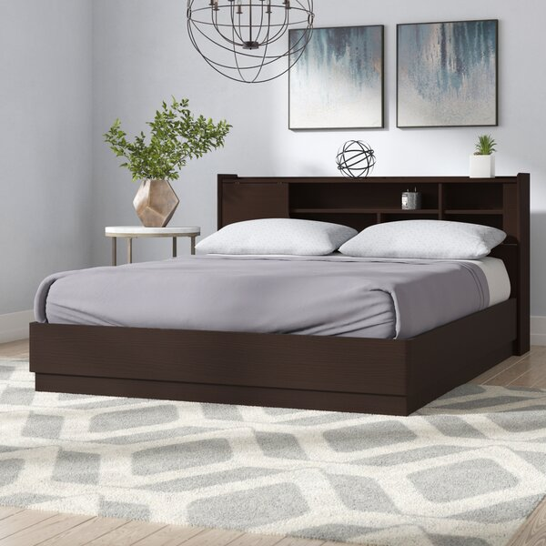 Maximillian Queen Platform Bed by Ebern Designs