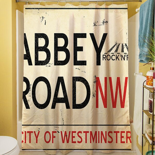 Abbey Road Shower Curtain by Manual Woodworkers & Weavers