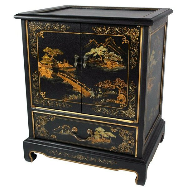 Diane End Table With Storage By World Menagerie