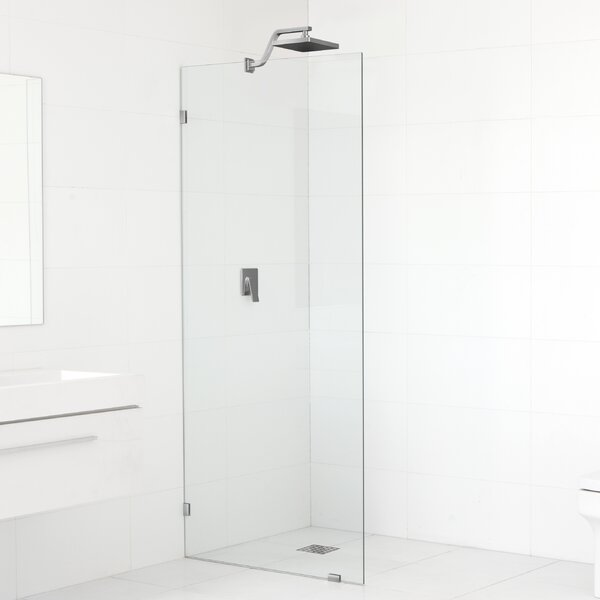 32 x 78 Frameless Fixed Glass Panel by Glass Warehouse