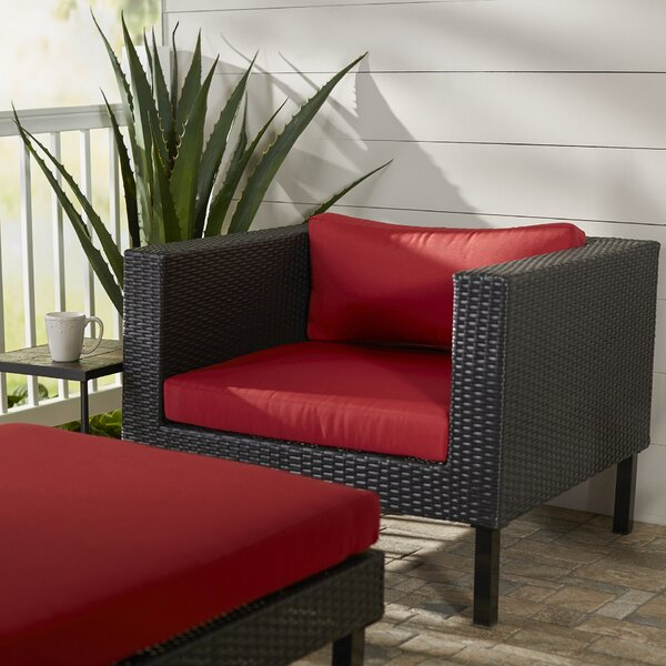 Zoar Patio Chair with Cushion by Breakwater Bay
