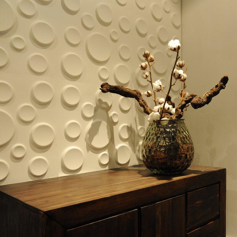 Decor Wonderland Craters 3D Decorative Wall Panels & Reviews   Wayfair