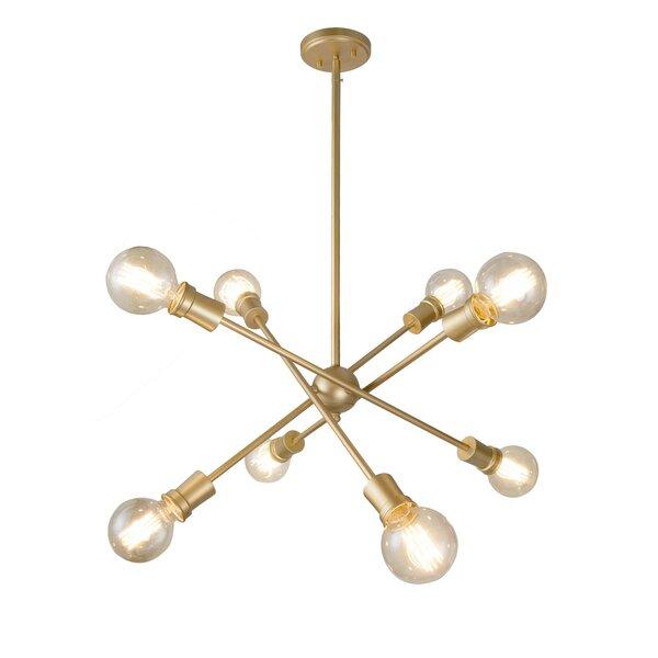 Muldoon 8 - Light Sputnik Sphere Chandelier By Corrigan Studio