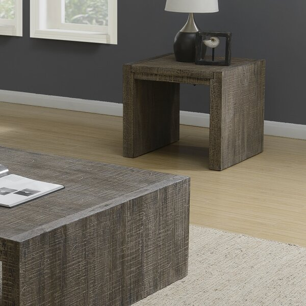 Stackpole End Table by Millwood Pines