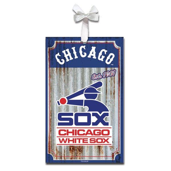 Metal Corrugate Shaped Ornament by Evergreen Enterprises, Inc