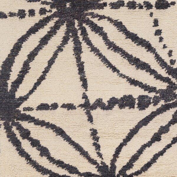 Orinocco Hand-Woven Black/Beige Area Rug by Jill Rosenwald Home