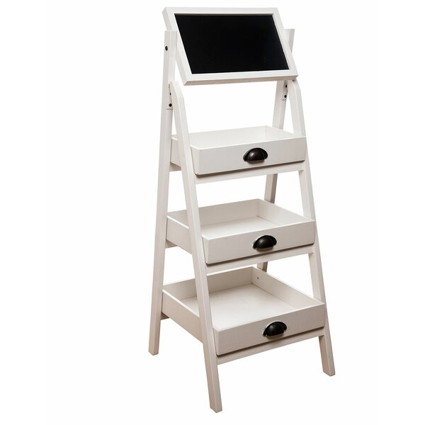 Three Tier Stand Ladder Bookcase By Foreside Home & Garden