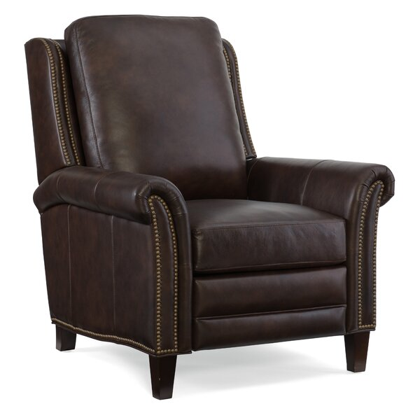 Fendi Leather Recliner by Hooker Furniture