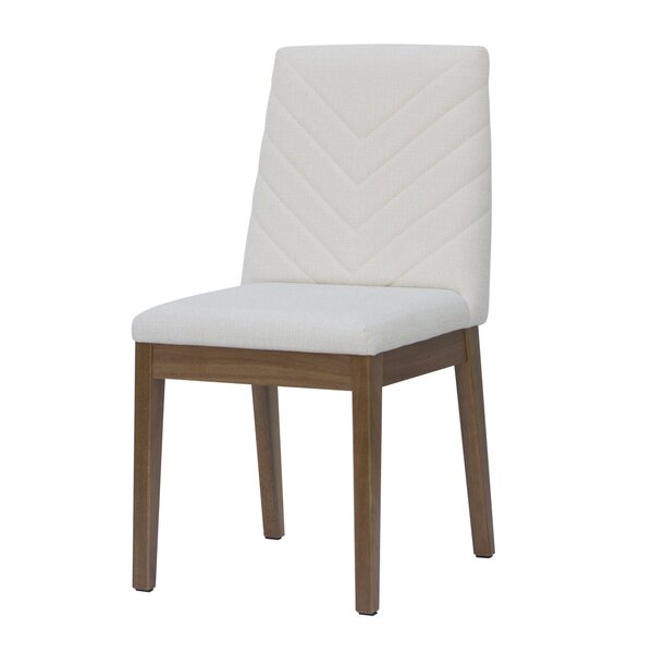 Taub Upholstered Dining Chair by Union Rustic