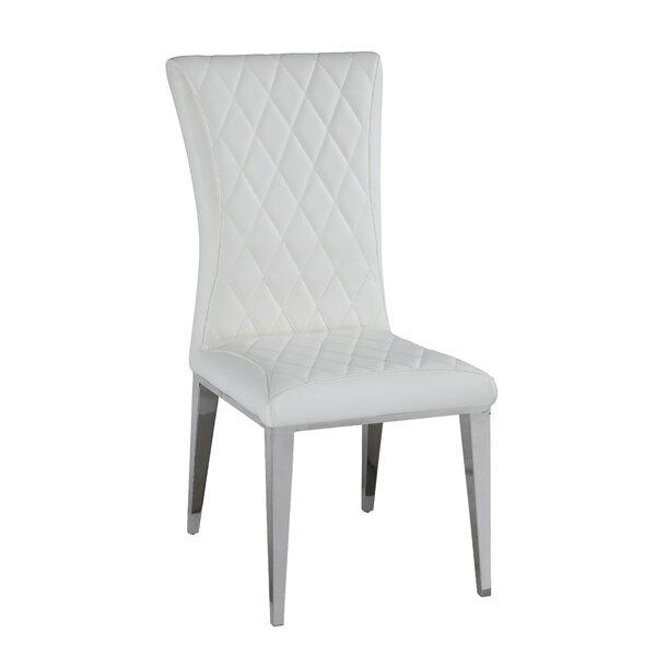 Berlin Upholstered Dining Chair (Set of 2) by Orren Ellis Orren Ellis