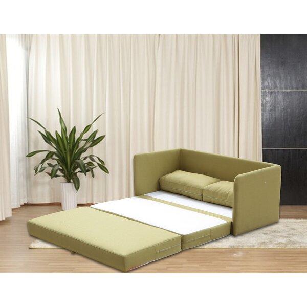 Earl Reversible Sleeper Loveseat by Zipcode Design