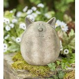 Happy Cat Statue byWind & Weather