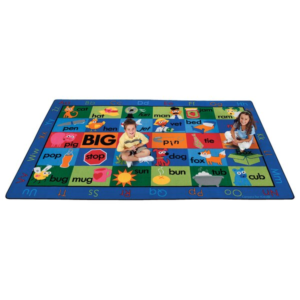 Emerado Rhyme Time Area Rug by Zoomie Kids