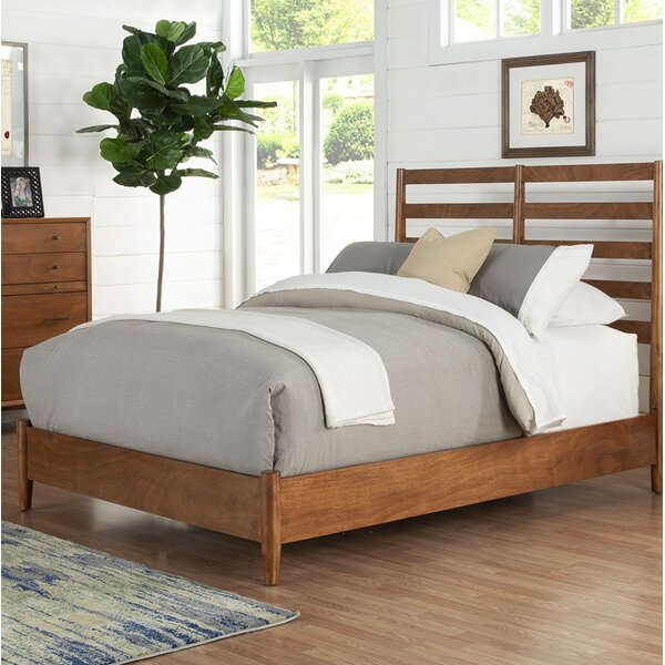 Parocela Retro Panel Bed by Langley Street