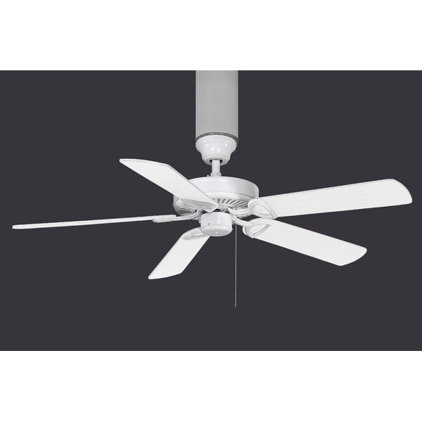 52 Ragnar Metal 5-Blade Ceiling Fan by Red Barrel Studio