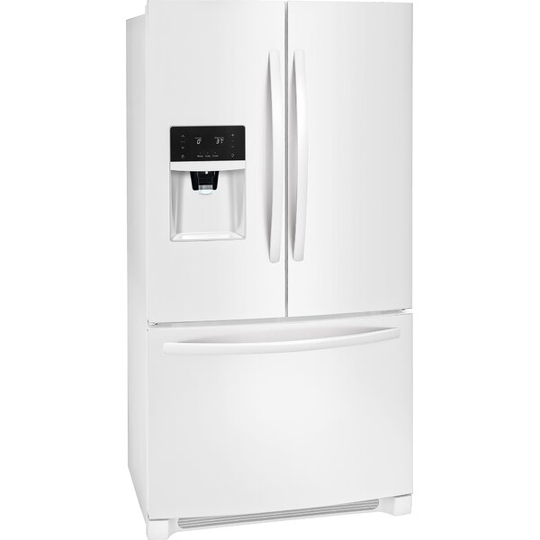 26.8 cu. ft. Energy Star French Door Refrigerator with LED Lighting by Frigidaire