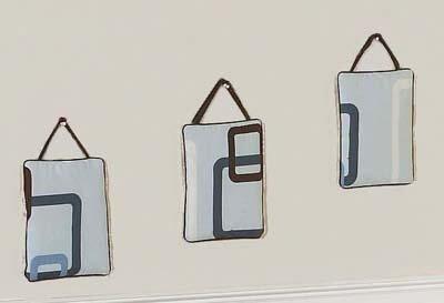 3 Piece Geo Hanging Art Set by Sweet Jojo Designs