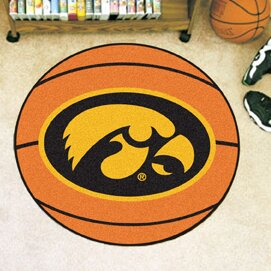 NCAA University of Iowa Basketball Mat by FANMATS