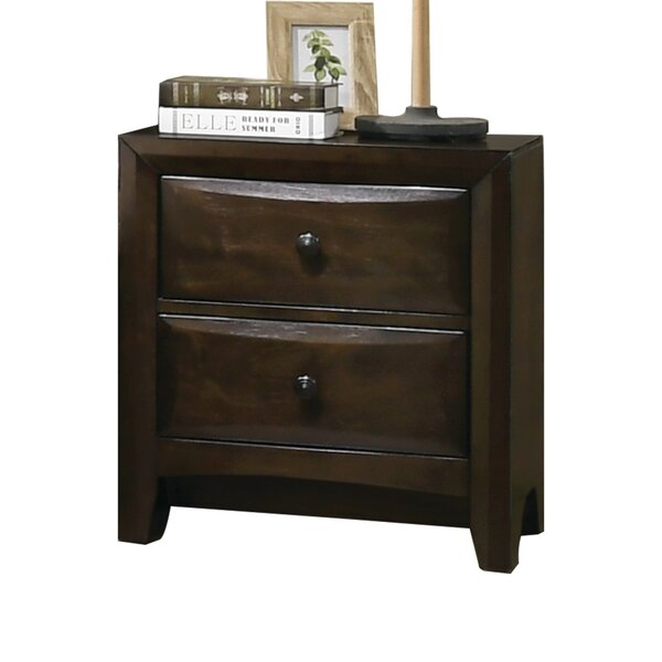 Arabelle 2 Drawer Nightstand By Latitude Run by Latitude Run Wonderful
