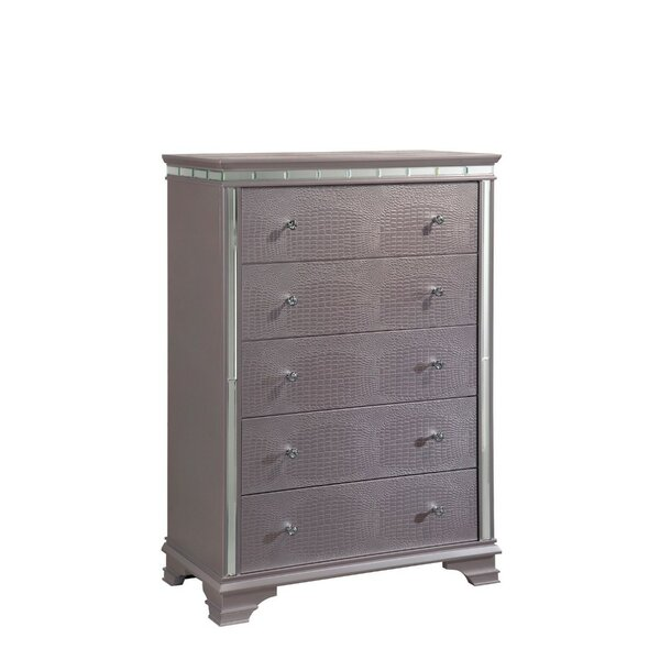 Scruggs 5 Drawer Chest by Mercer41