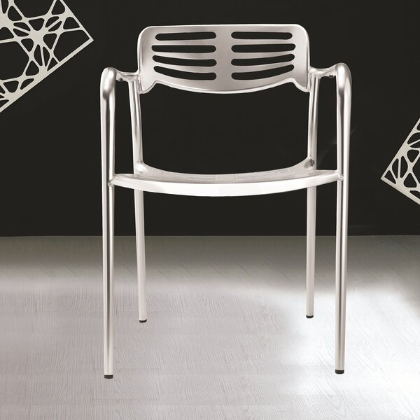 Stacking Patio Dining Chair by Fine Mod Imports