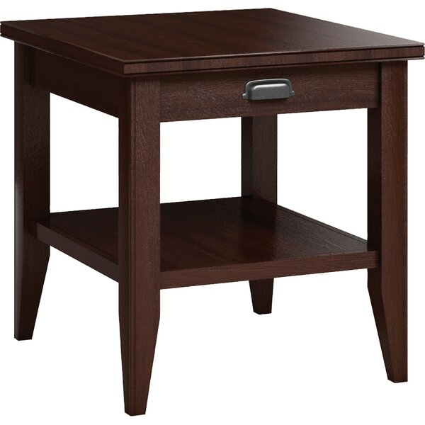 Downtown End Table with Drawer by Caravel