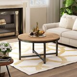 Sangster Cross Legs Coffee Table by 17 Stories