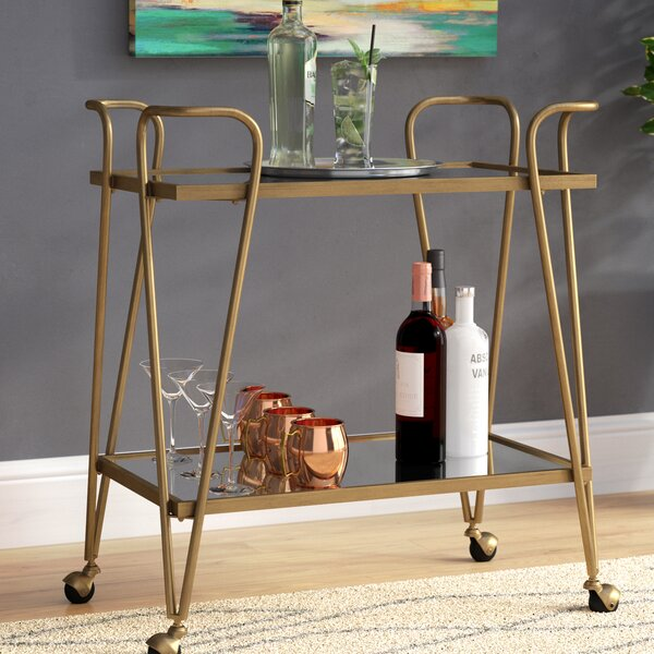 Laurence Mid Century Bar Cart By Zipcode Design.