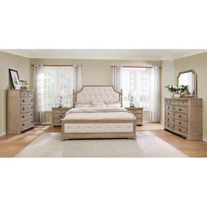 Pennington Platform 6 Piece Bedroom Set