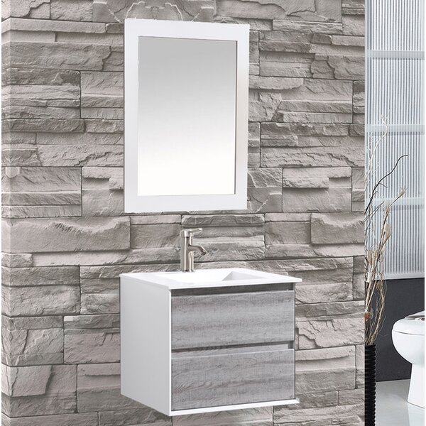 Pedersen 24 Single Sink Bathroom Vanity by Orren Ellis