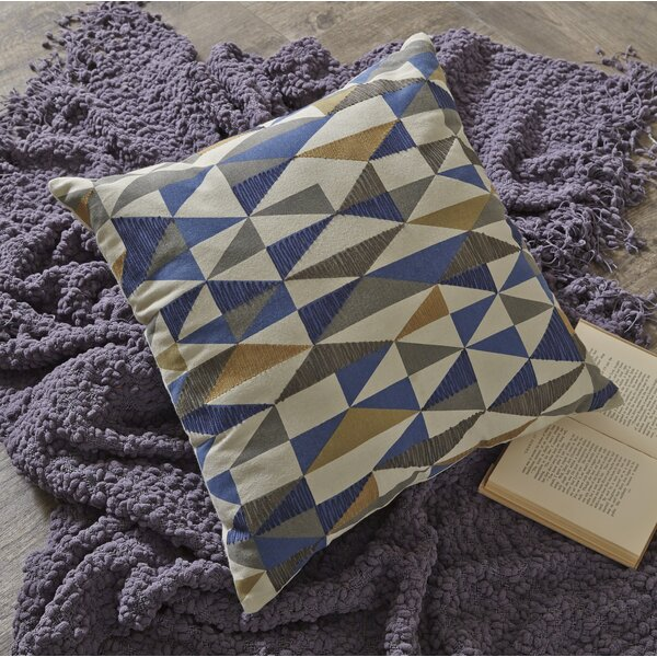 Tacoma Cotton Throw Pillow by Langley Street