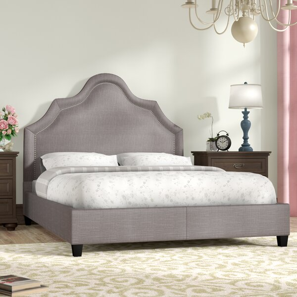 Humphries Upholstered Standard Bed by Three Posts