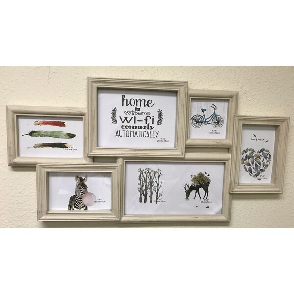 Burmeister 6 Piece Picture Frame Set by Winston Porter