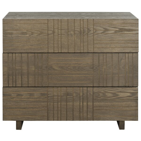 Funderburg 3 Drawer Accent Chest by Brayden Studio