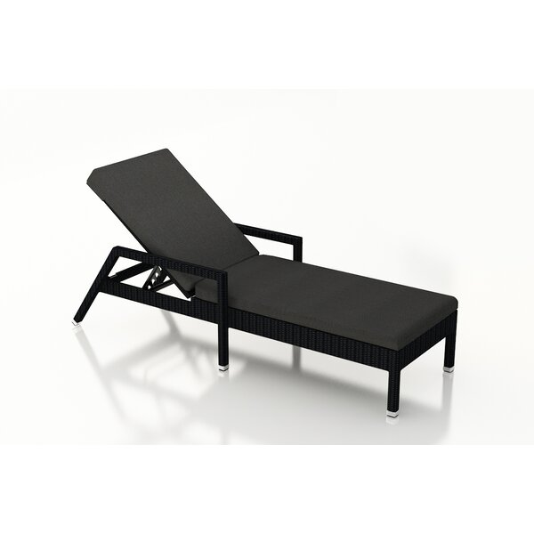 Azariah Reclining Chaise Lounge with Cushion by Orren Ellis