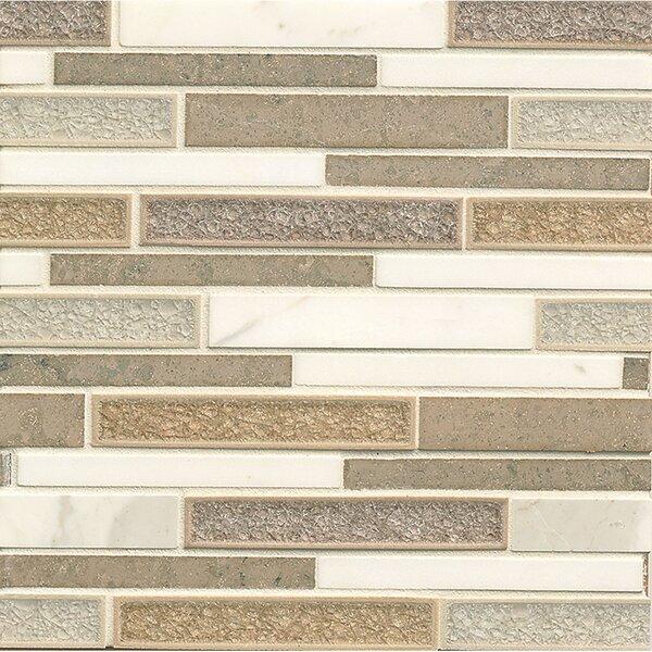 Kismet Random Sized Stone and Porcelain Mosaic Tile in Serendipity