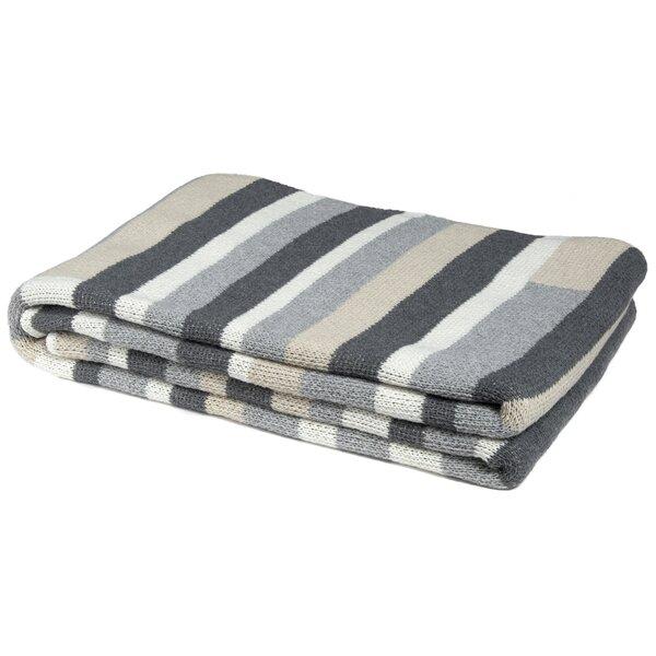 Block Stripe Throw Blanket by In2Green
