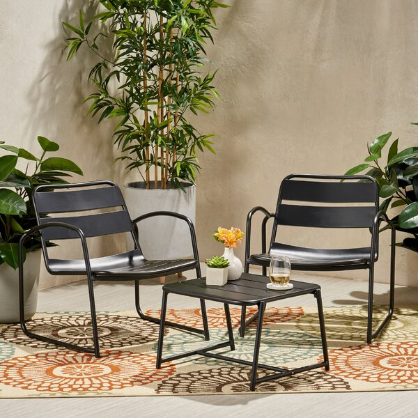 3 Piece Seating Group by Ebern Designs
